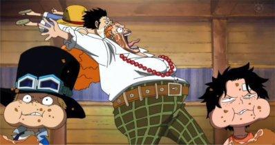 Image drôle ou Parodie de One Piece