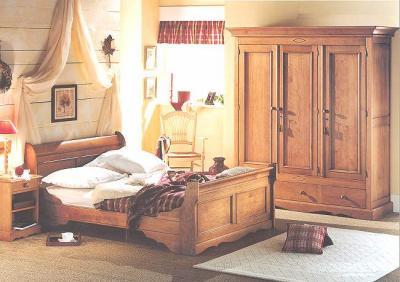 décoration chambre rustique adulte