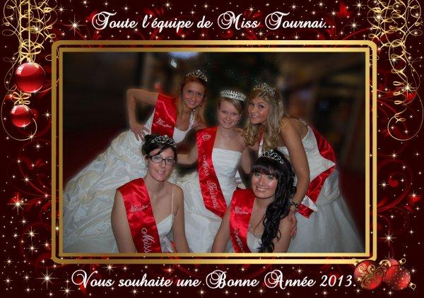 2013 BONNE ANNEE DE LA PART DES MISS