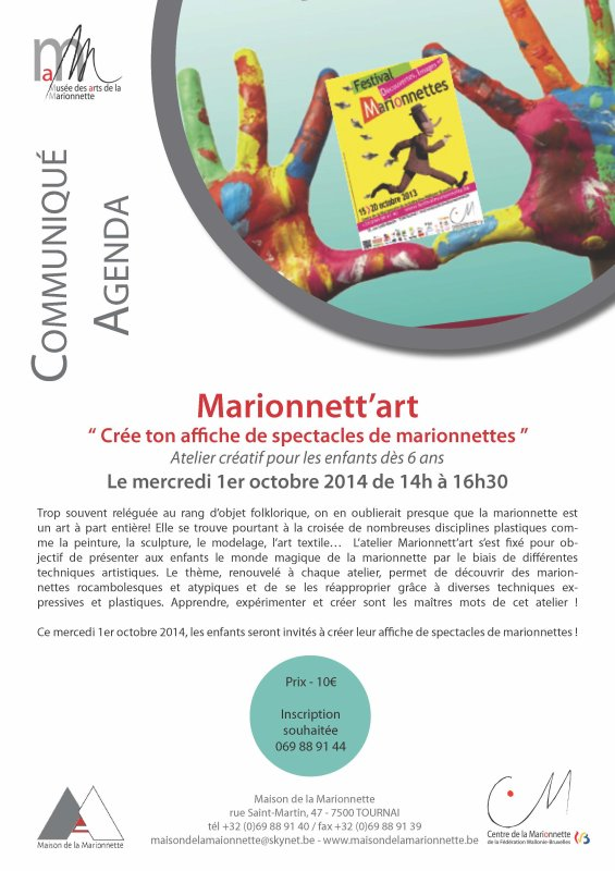 2014-010-01-TOURNAI - MARIONNETT'ART - MONDE MAGIQUE