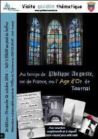 2014-10-26-TOURNAI - LES GUIDES VOUS INVITENT