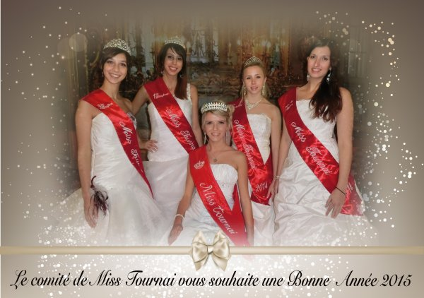 2015-01-01- LES VOEUX DE MISS TOURNAI