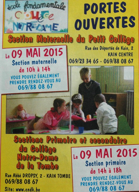 2015-05-03-KAIN - PORTES OUVERTES AU COLLEGE