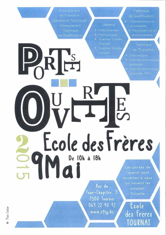 2015-05-09-TOURNAI - PORTES OUVERTES CHEZ LES FRERES