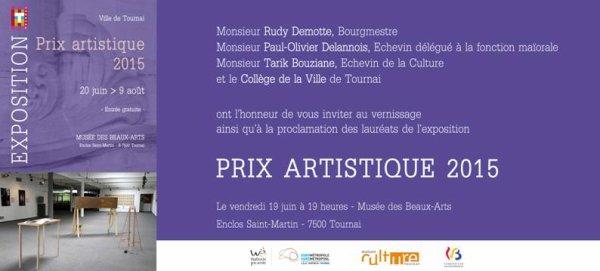 2015-06-19-TOURNAI – REMISE DU PRIX ARTISTIQUE