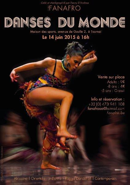 2015-06-14-TOURNAI - SPECTACLE DE DANSES DU MONDE