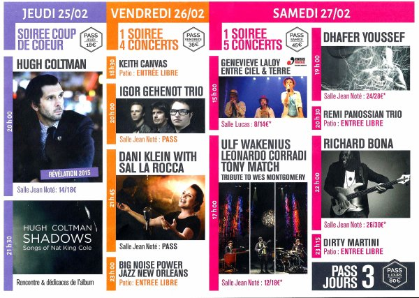 2016-02-25-26-27-TOURNAI - UN FESTIVAL DE JAZZ