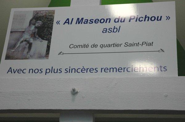2015-12-08-TOURNAI – REMISE DE CHEQUE AL MASEON DU PICHOU