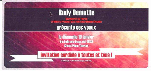 2016-01-10-TOURNAI - VOEUX DE RUDY DEMOTTE