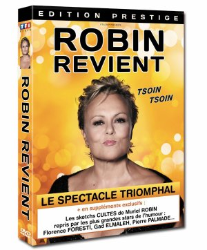 """""""ROBIN REVIENT"""" : Tournée en France, Suisse, Belgique. [Novembre 2013 - Décembre 2014] + Sortie DVD."""