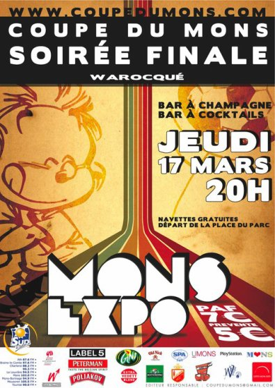 "Final Night  "" Coupe du Mons ""  Lotto Mons EXPO"