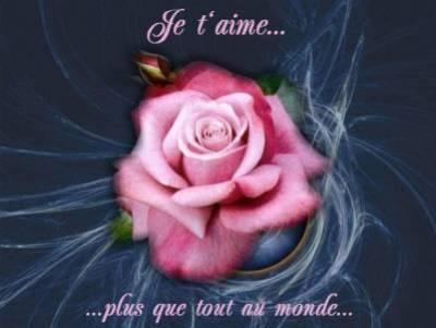 je t'aime plus que tout - poeme d'amour, d'amitier ....