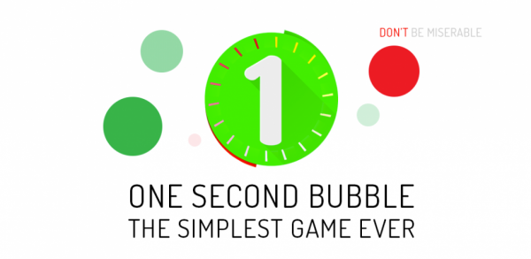 One Second Bubble