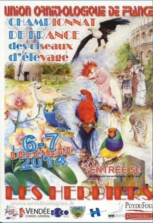 CHAMPIONNAT DE FRANCE 2014 Les Résultats........