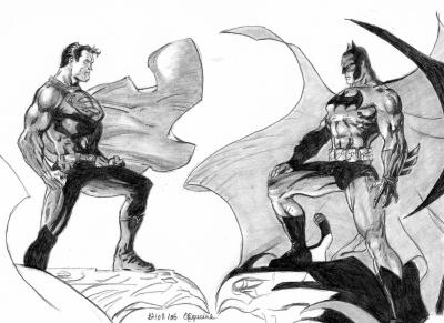 Superman vs batman dessins et moi en folie - Superman et batman dessin anime ...