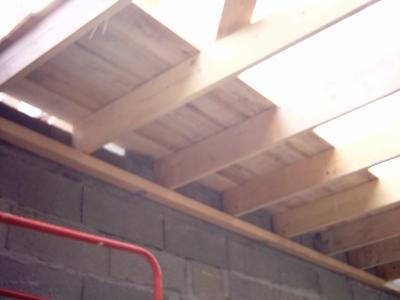 plancher du grenier construction de notre maison. Black Bedroom Furniture Sets. Home Design Ideas
