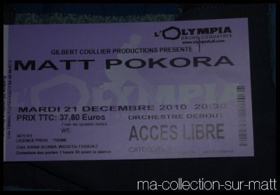 Place concert Olympia