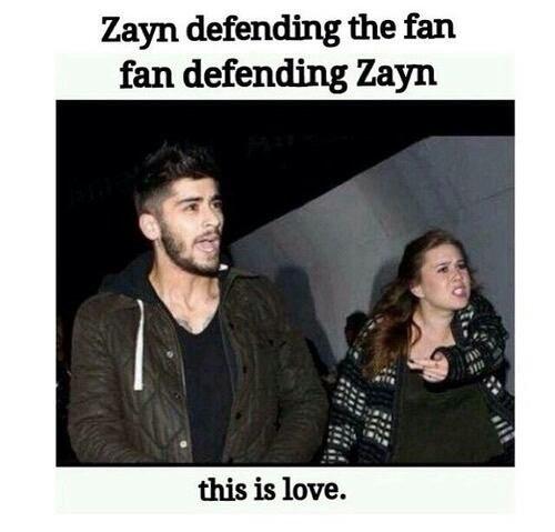 Ça c'est de l'amour ! Les boys nous défendent et nous nous défendons les boys !