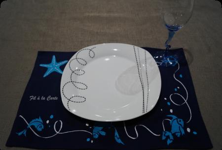 Sets de table Mer