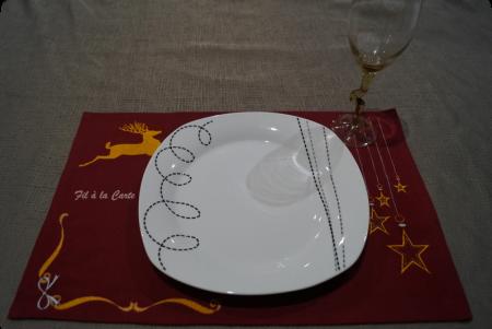 Set de table Noël