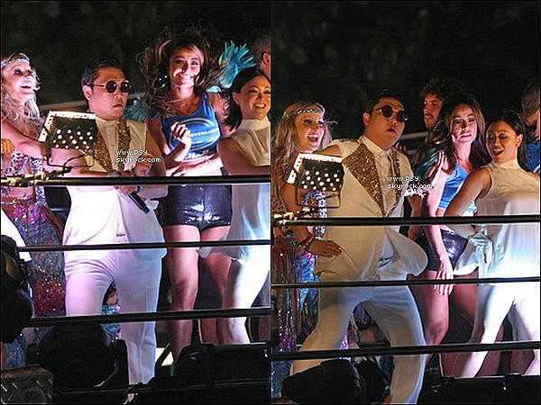 Psy at Carnival. - le 8 février 2013.