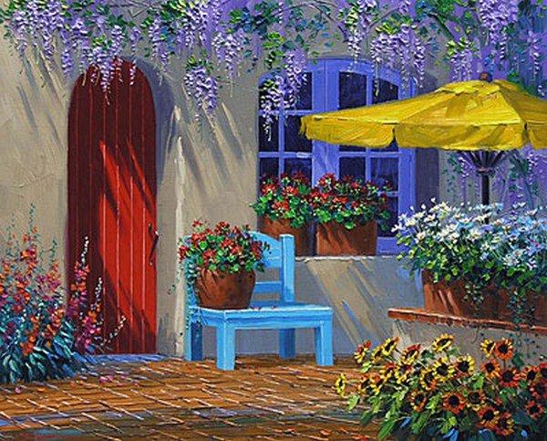 Fonds ecrans paysages fleuris blog de tamalou012 for Fond ecran ete fleurs