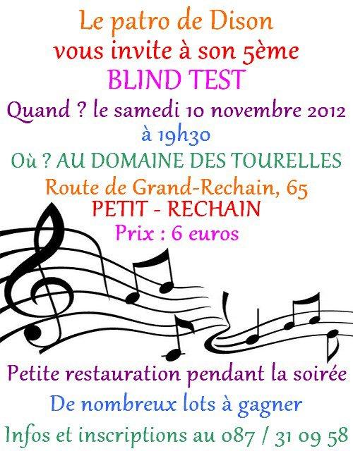 Blind Test 2012