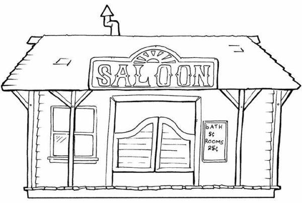 Pour les vacances 7 blog de country fan 39 s 67 - Dessin saloon ...