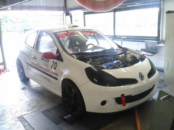 Jean Louis Poirier , Renault Clio 3 Super 1600 chez Olyméca Sport