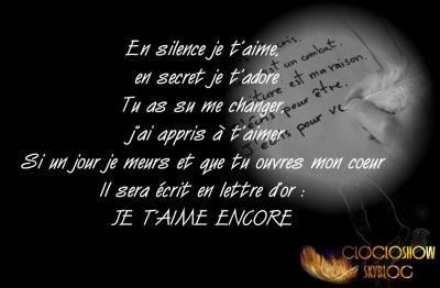 Blog de nicros po mes d 39 amours for Tu es le miroir de ma vie
