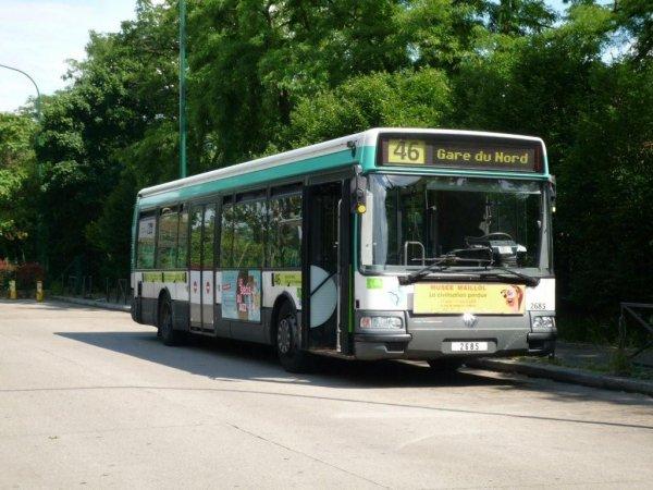 du nouveau pour la ligne de bus ratp 46 lagny. Black Bedroom Furniture Sets. Home Design Ideas
