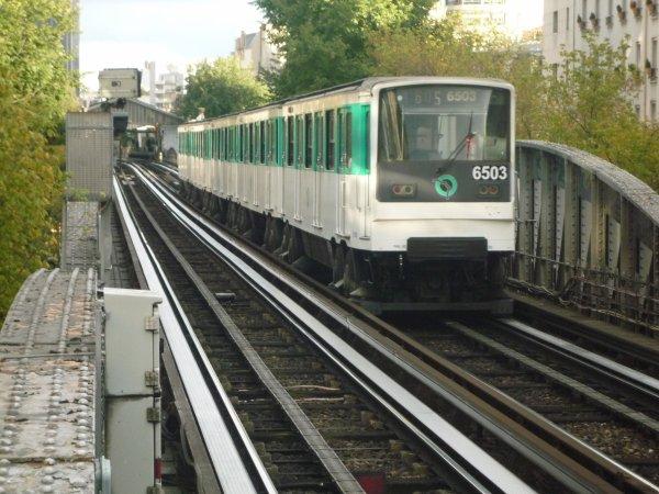 MP 73 sur la ligne 6