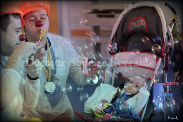 On ne joue pas le clown... on l'est !
