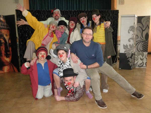 La formation des clowns