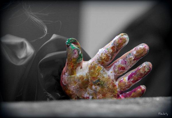 L'art th�rapie : s'exprimer en cr�ant.