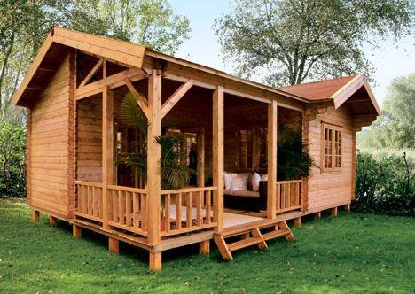 Blog de decebal decebal chalets en bois massif - Petite maison en bois habitable ...