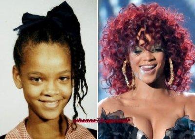 Rihanna avant et apr s navyrihanna - Rihanna avant apres ...