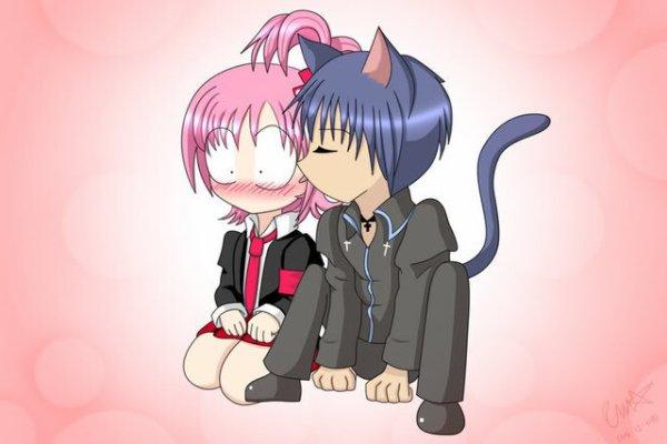 Shugo Chara! Ikuto et Amu <3