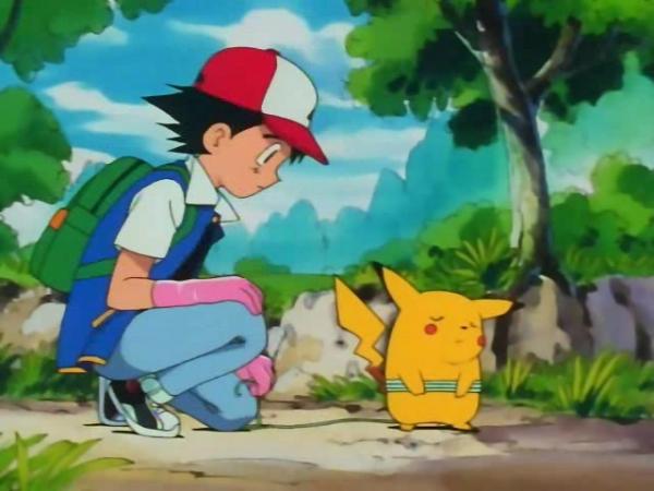 rencontre pikachu sacha