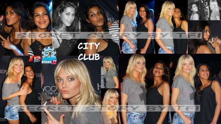 Caroline et Ayem au City club de Bordeaux le 30 mars