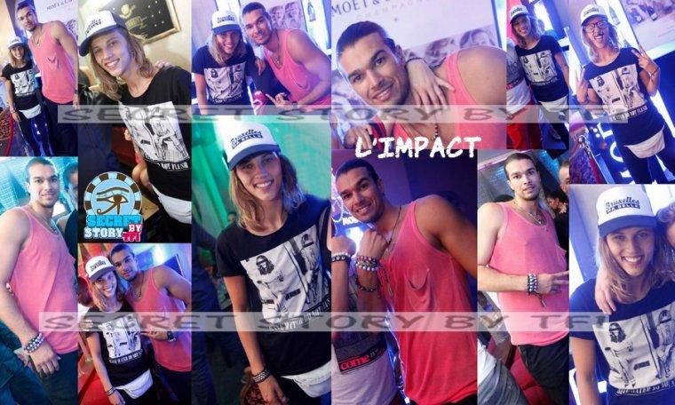 Emilie et Midou à L'Impact