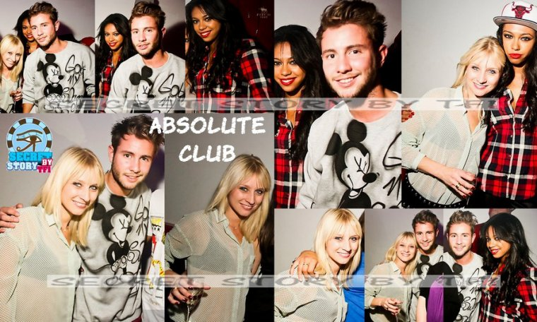 Ginie, Alex et Virginie à l'Absolute Club (2)
