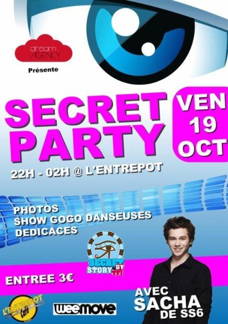 Sacha à l'Entrepot d'Angers le 19 octobre