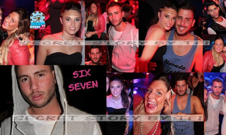 Capucine, Alex, Aurélie, Zelko, Simon au Six Seven