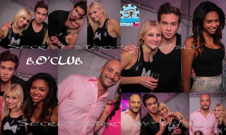 Ginie, Sacha, Virginie et Kevin au B.O.'Club