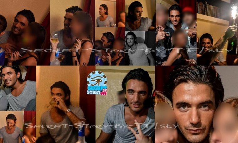 Secret story: Thomas en soirée à Marseille mercredi dernier