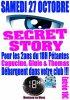 Secret story : Thomas, Ginie, Capucine au 18h Pétantes de Montceau les Mines le 27 octobre