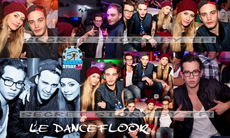 Secret story: Julien, Fanny, Sacha au Dancefloor