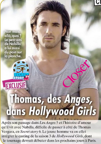 Thomas rejoint Hollywood Girl !!