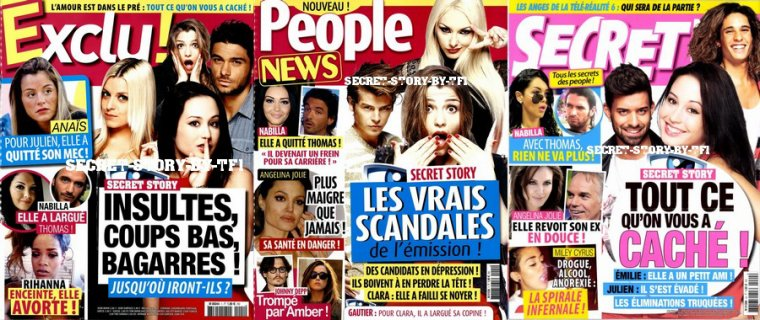 La presse people (suite)
